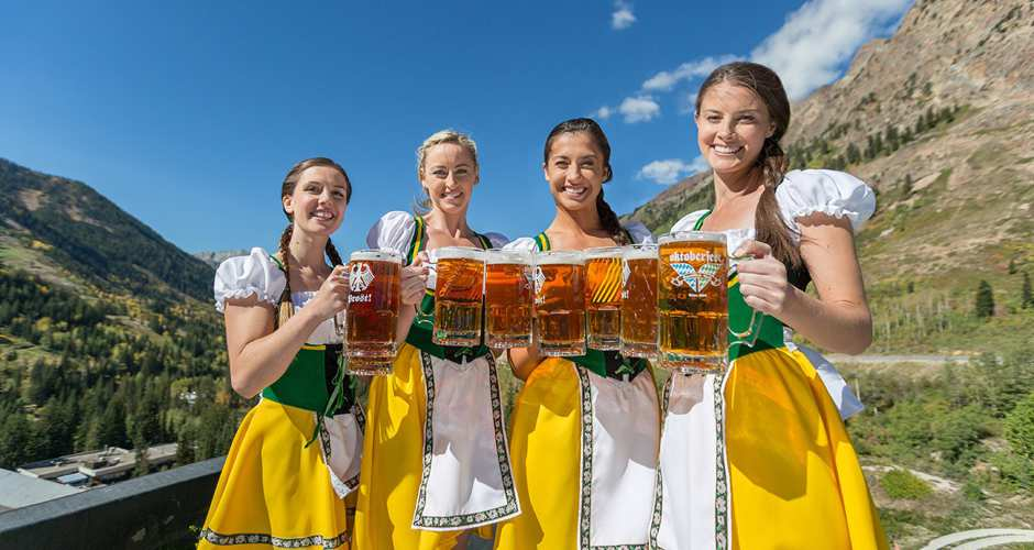 Snowbird Oktoberfest in Salt Lake County, Utah