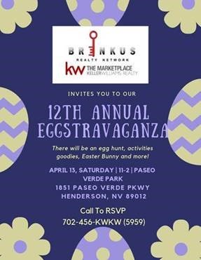 Eggstravaganza – Easter Event in Henderson 2019