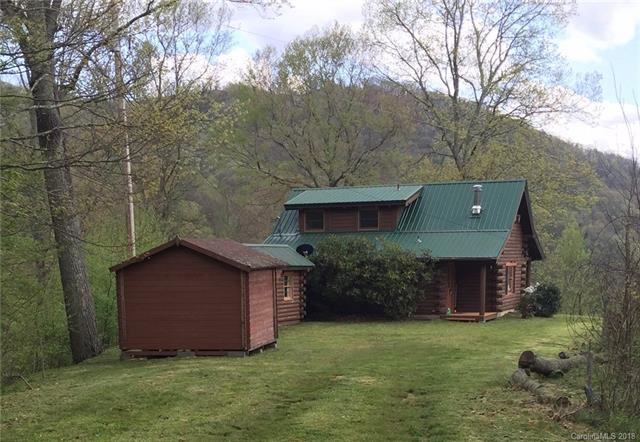 SOLD! Charming Log Cabin in Haywood County