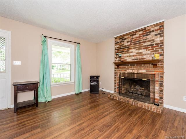 Sold West Asheville Mt Carmel Estates Fireplace