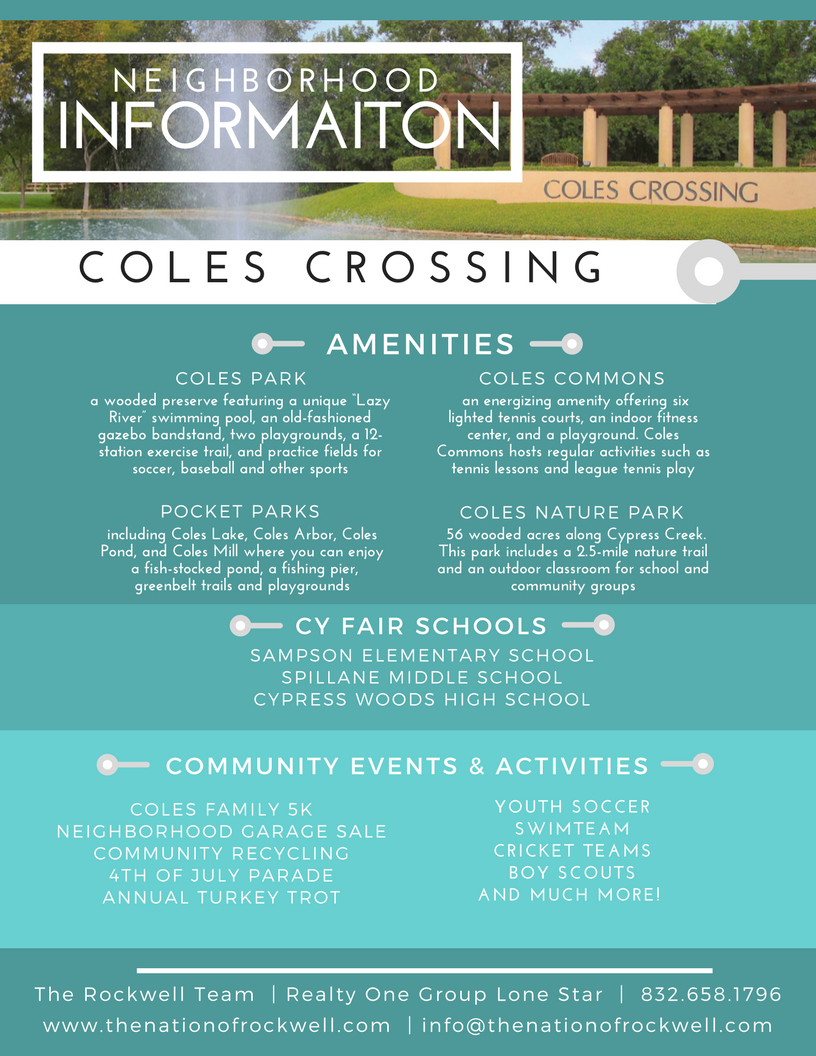 Featured Community: Coles Crossing
