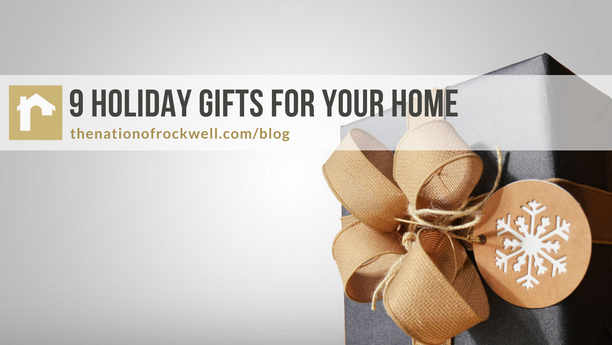 9 Holiday Gifts for Your Home