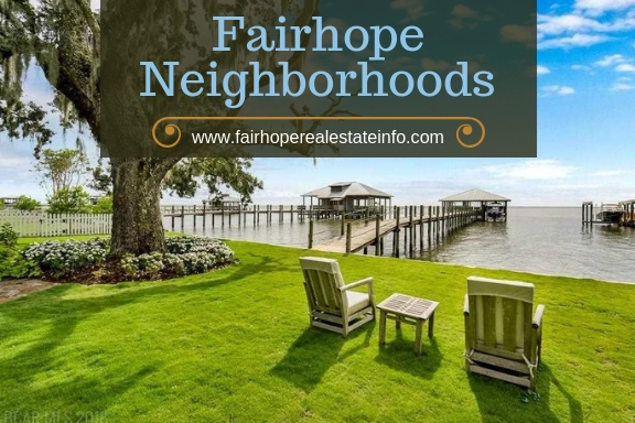 Fairhope AL Neighborhoods