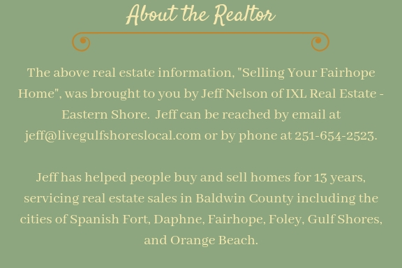 Signature - Selling Your Fairhope AL Home