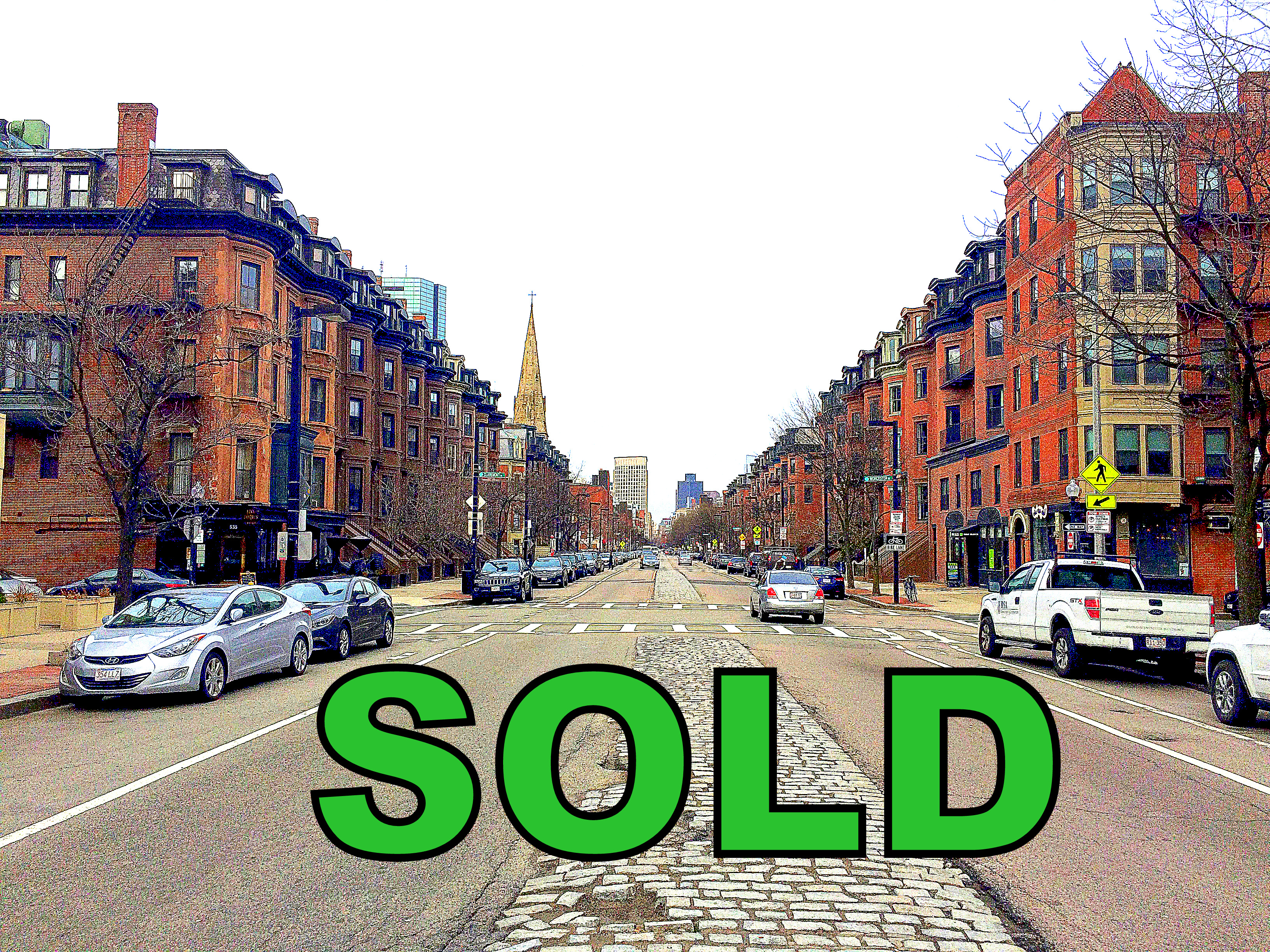 SOLD OFF MARKET One Bedroom with Deeded Parking -- South End