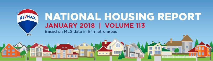 January 2018 Housing Report: 4 Things to Know