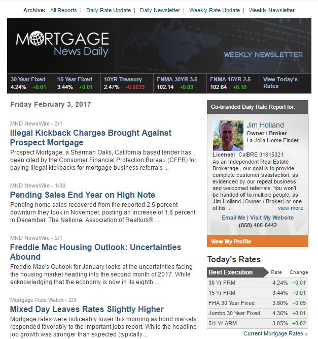 Mortgage News Daily – Weekly Report (021017)