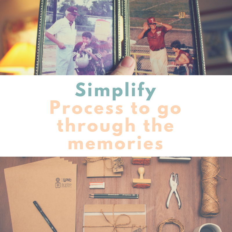 Simplify - Simple process to go through all the memories