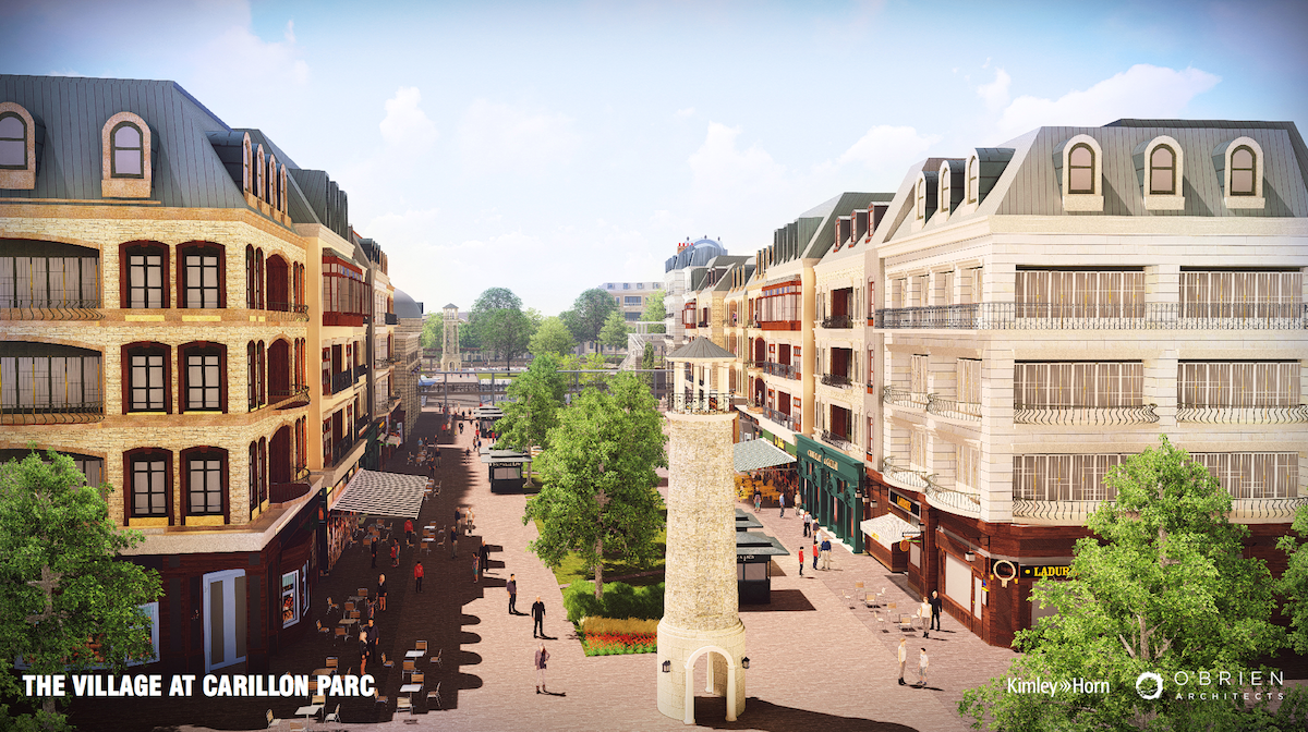 "New Southlake Village: ""Carillon Parc"""