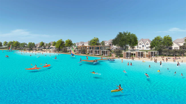 New Crystal Clear Lagoon Coming to Prosper