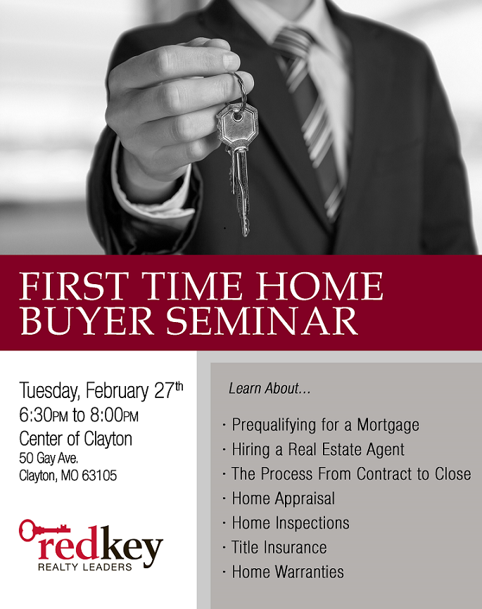 First Time Homebuyers Seminar