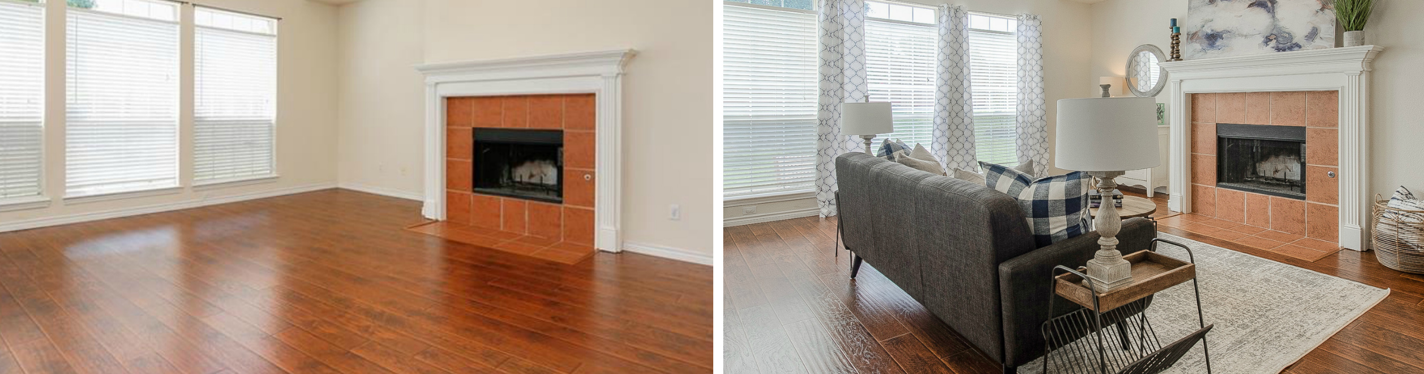 Before and After: Home Staging Transformations