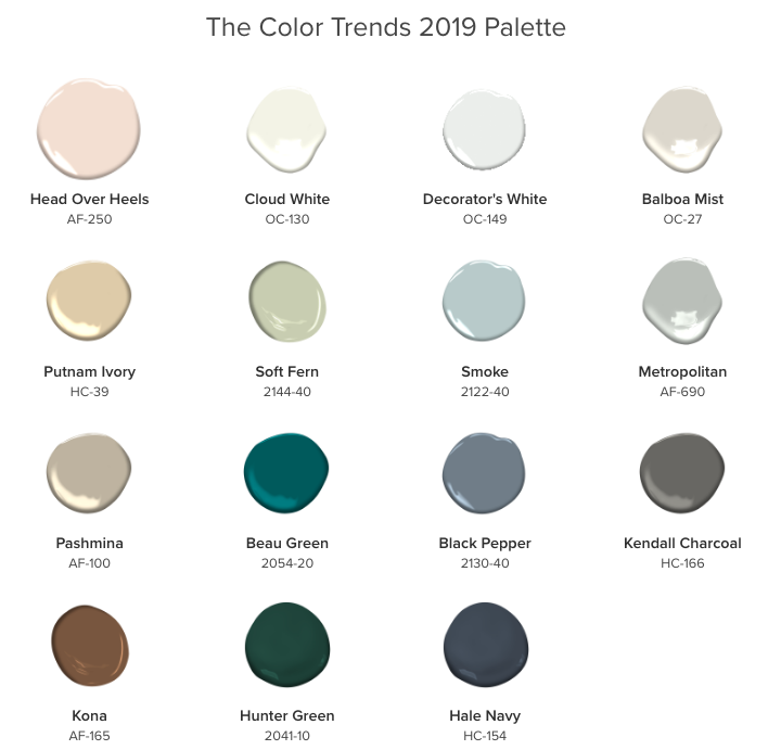 Benjamin Moore's 2019 Color of the Year - it's GORGEOUS!