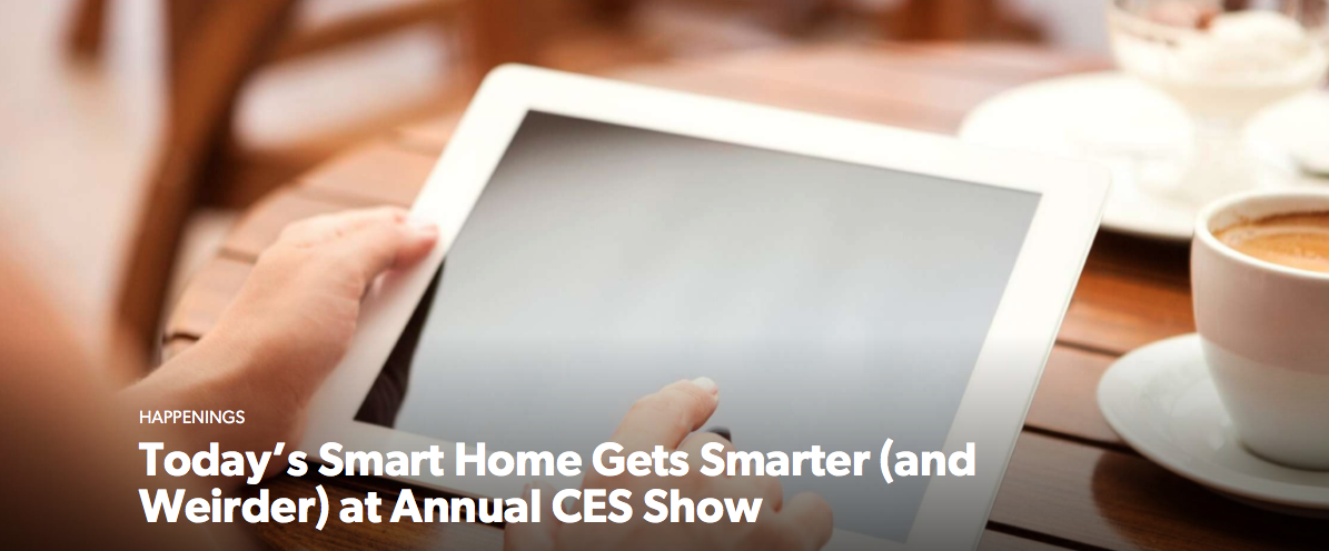 Today's Smart Home Gets Smarter (and Weirder) at Annual CES Show