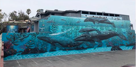 Wyland Invited Town To Whaling Wall Re-Dedication At Hotel Laguna