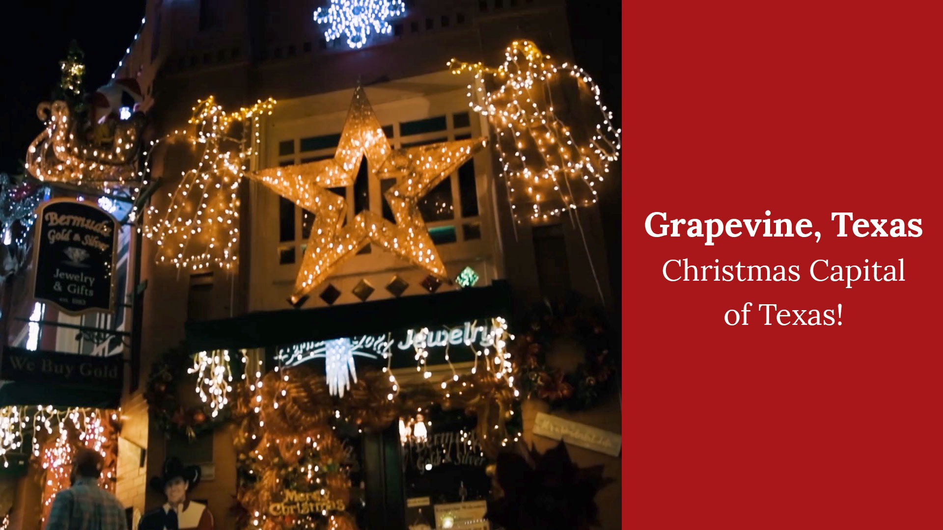 Grapevine, Texas – The Christmas Capital of Texas