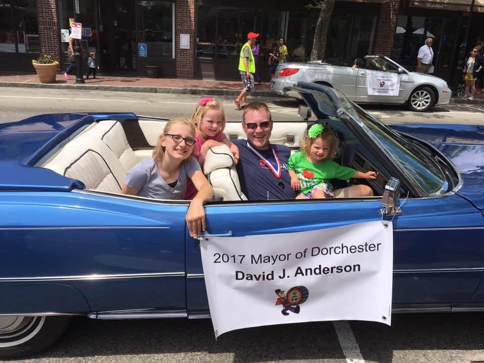 Dave Anderson Mayor of Dorchester 2017!