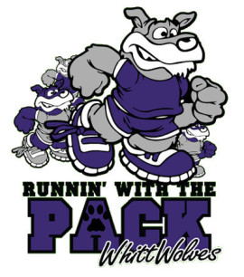 "REGISTER THIS WEEKEND FOR THE WHITT WOLVES ""RUNNIN' WITH THE PACK"" 5K"