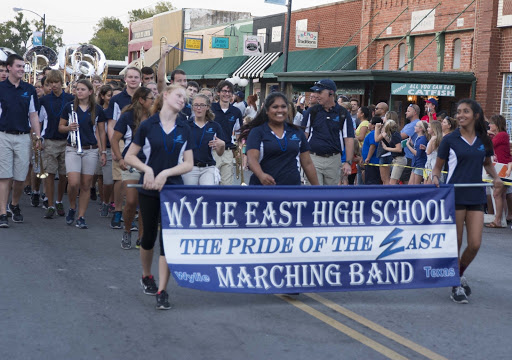 Wylie East Homecoming Parade