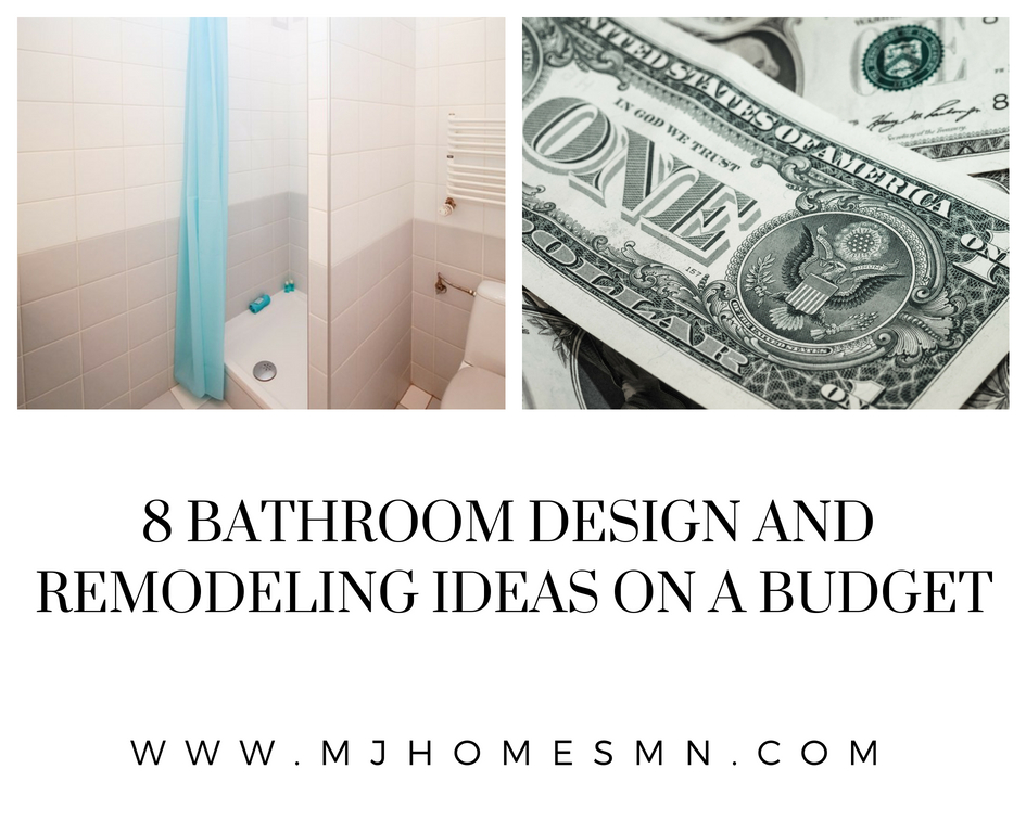 8 Bathroom Design And Remodeling Ideas On A Budget