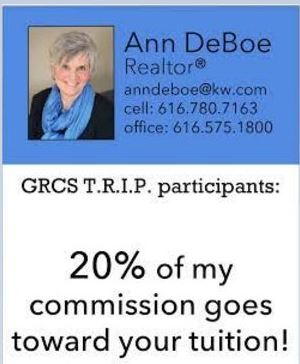 20% of my commission goes toward Christian School & Christian College tuition!