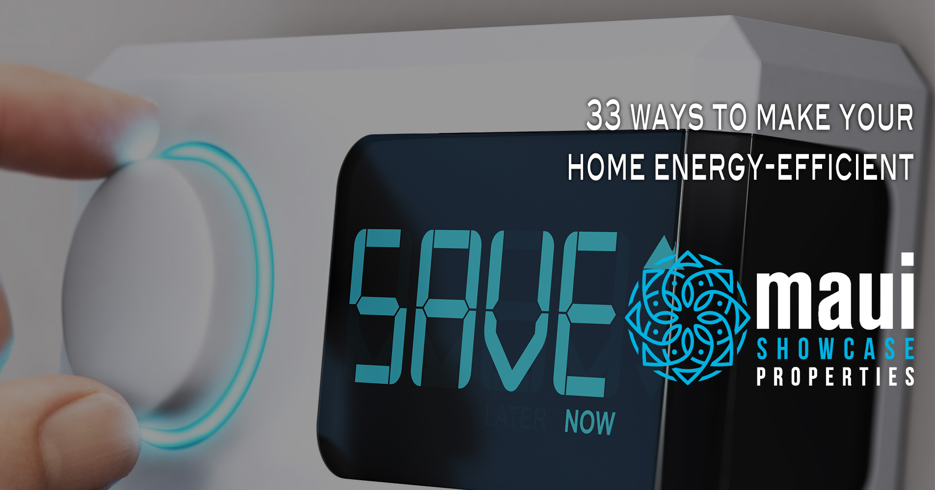 33 ways to make your home energy-efficient