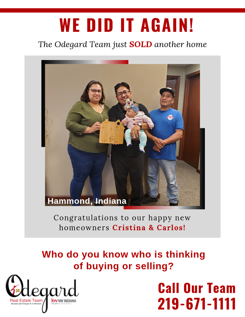 Cristina and Carlos Happy New Homeowners in Hammond IN