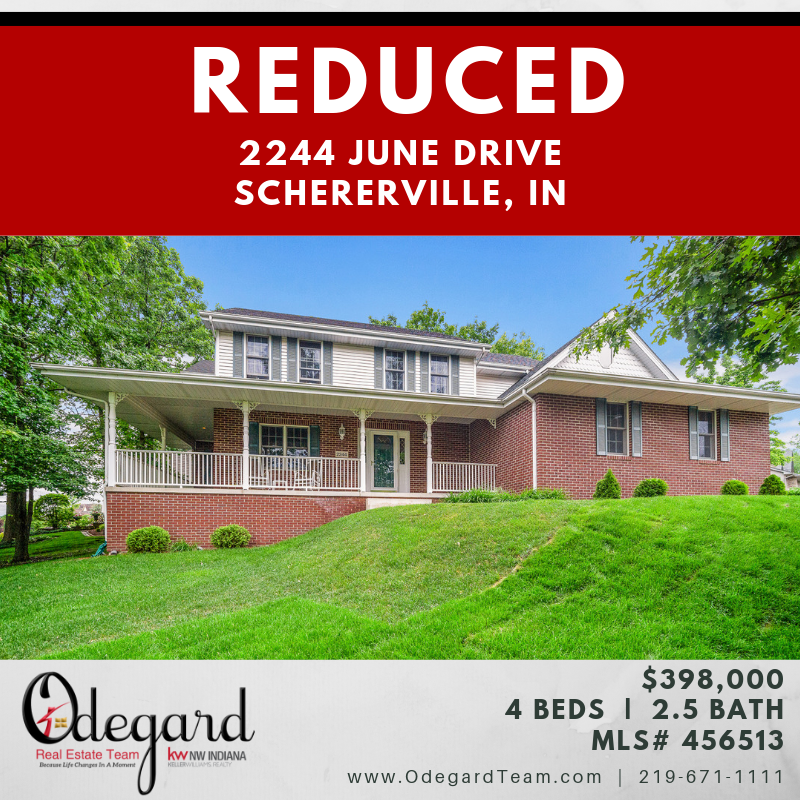 Reduced 2244 June Drive, Schererville IN 46375