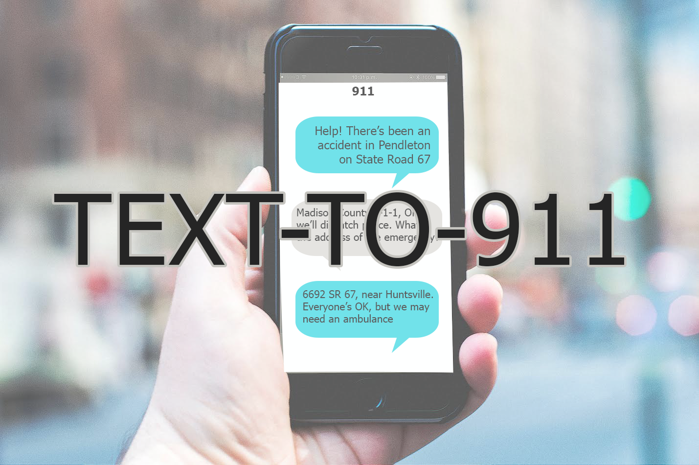 Text-to-911 is Live Across Indiana