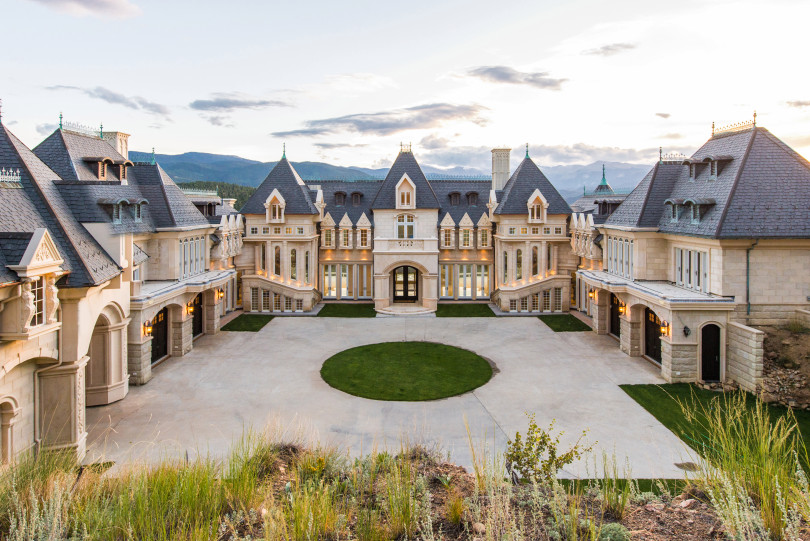 Massive Castle in Colorado Seeks $17.5 Million