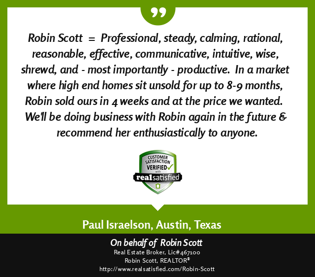 Real Satisfied Testimonial from Home Seller