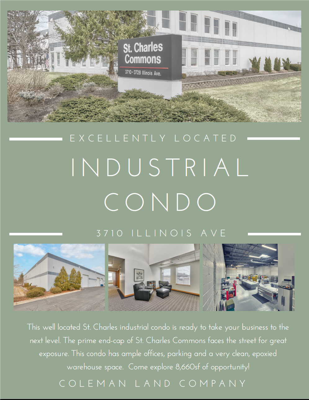 Well Located Industrial Condo