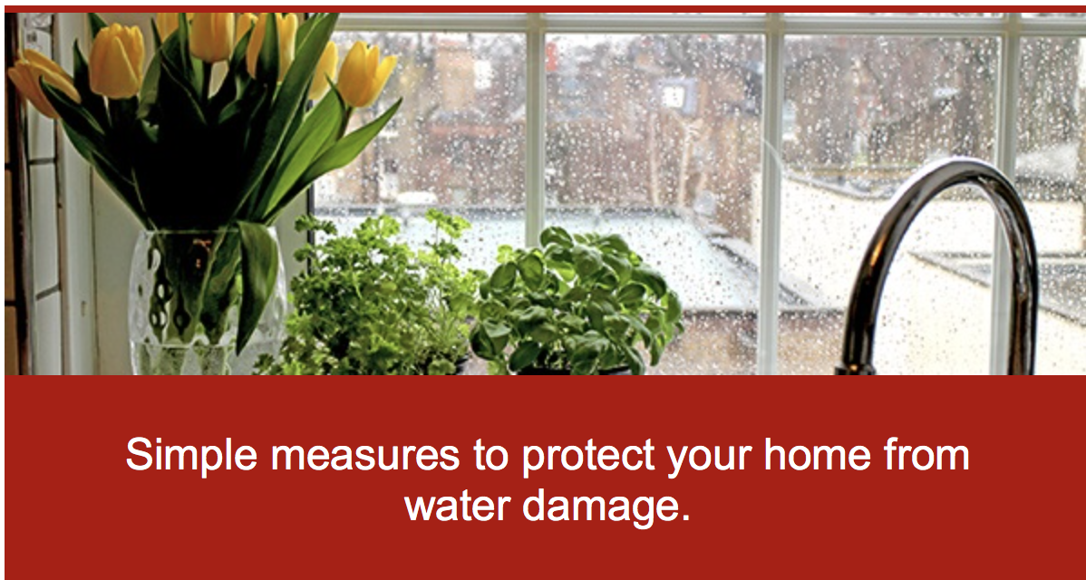Simple Measures To Protect Your Home From Water Damage.