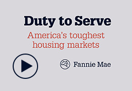 Duty To Serve mortgage loans