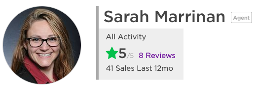 Zillow Reviews of Sarah Marrinan