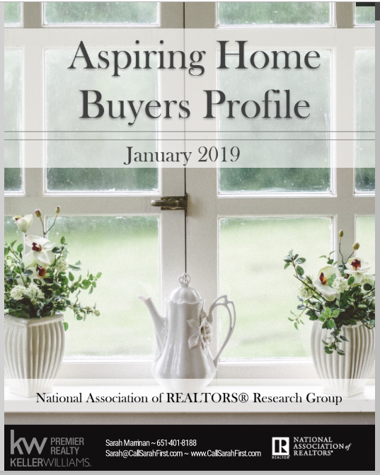 See the full report Aspiring Home Buyers Profile 2019