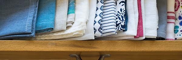 Take two minutes to get organized.