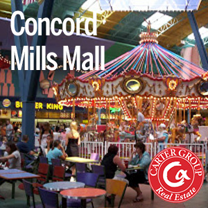 Living in Concord Mills Concord NC