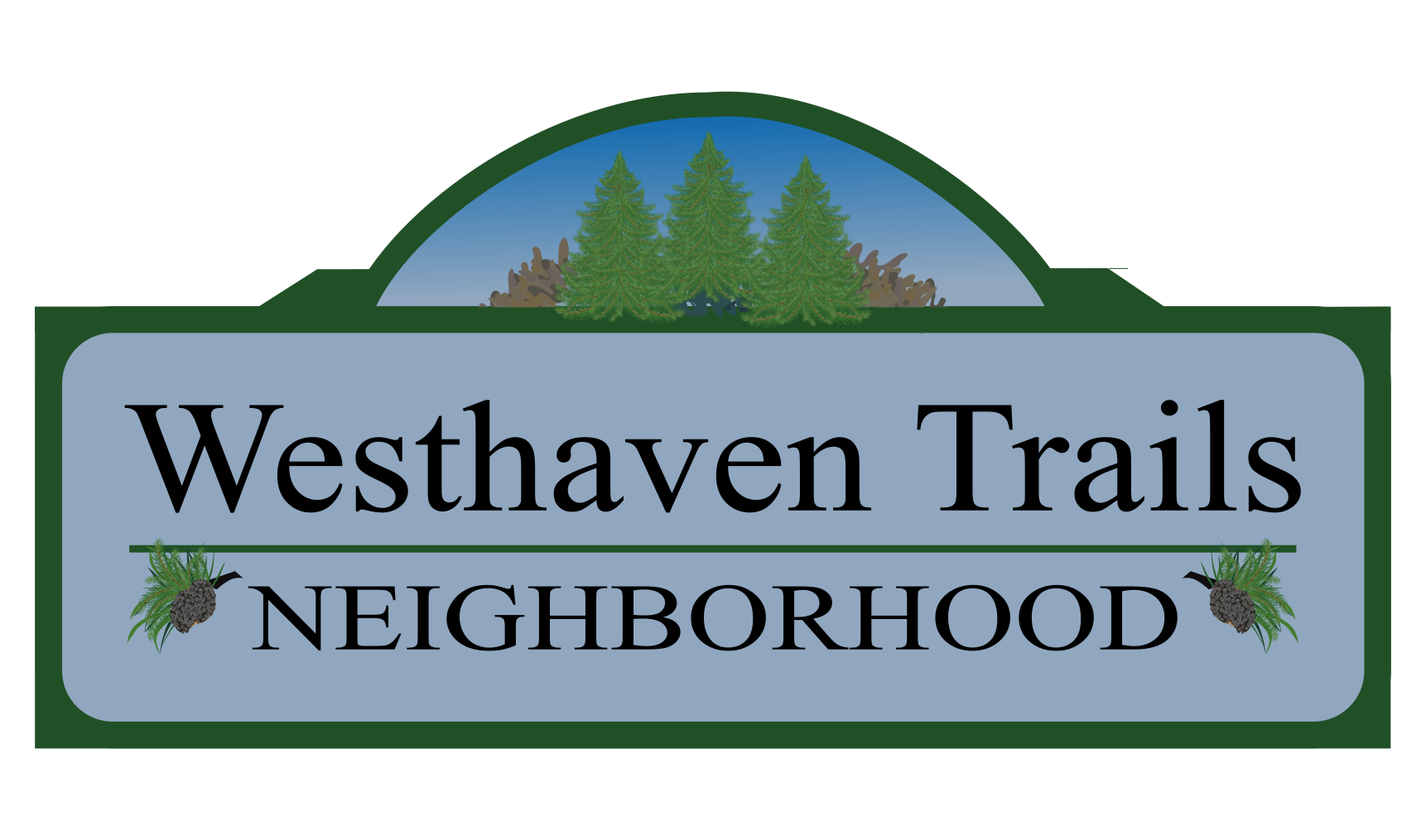 Westhaven Trails Neighborhood Sign