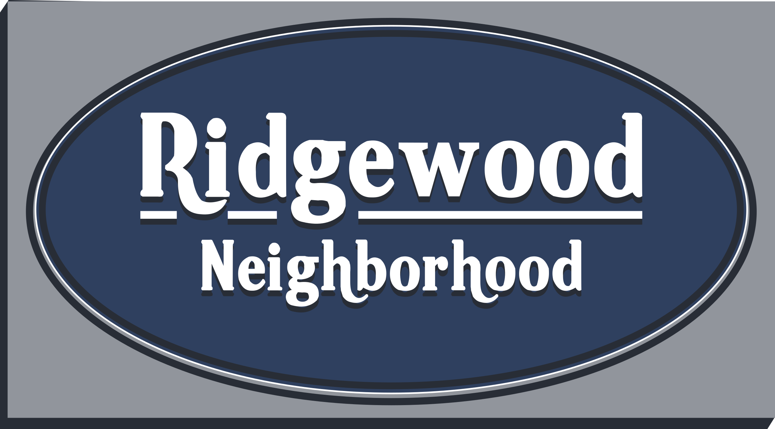 Madison's Ridgewood Neighborhood - sign