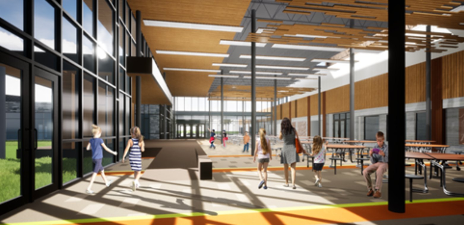 Forest Ridge School Rendering