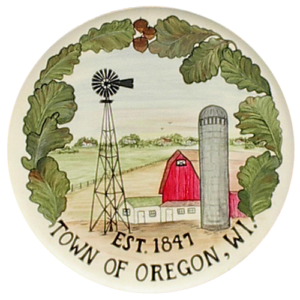 Town of Oregon Sign