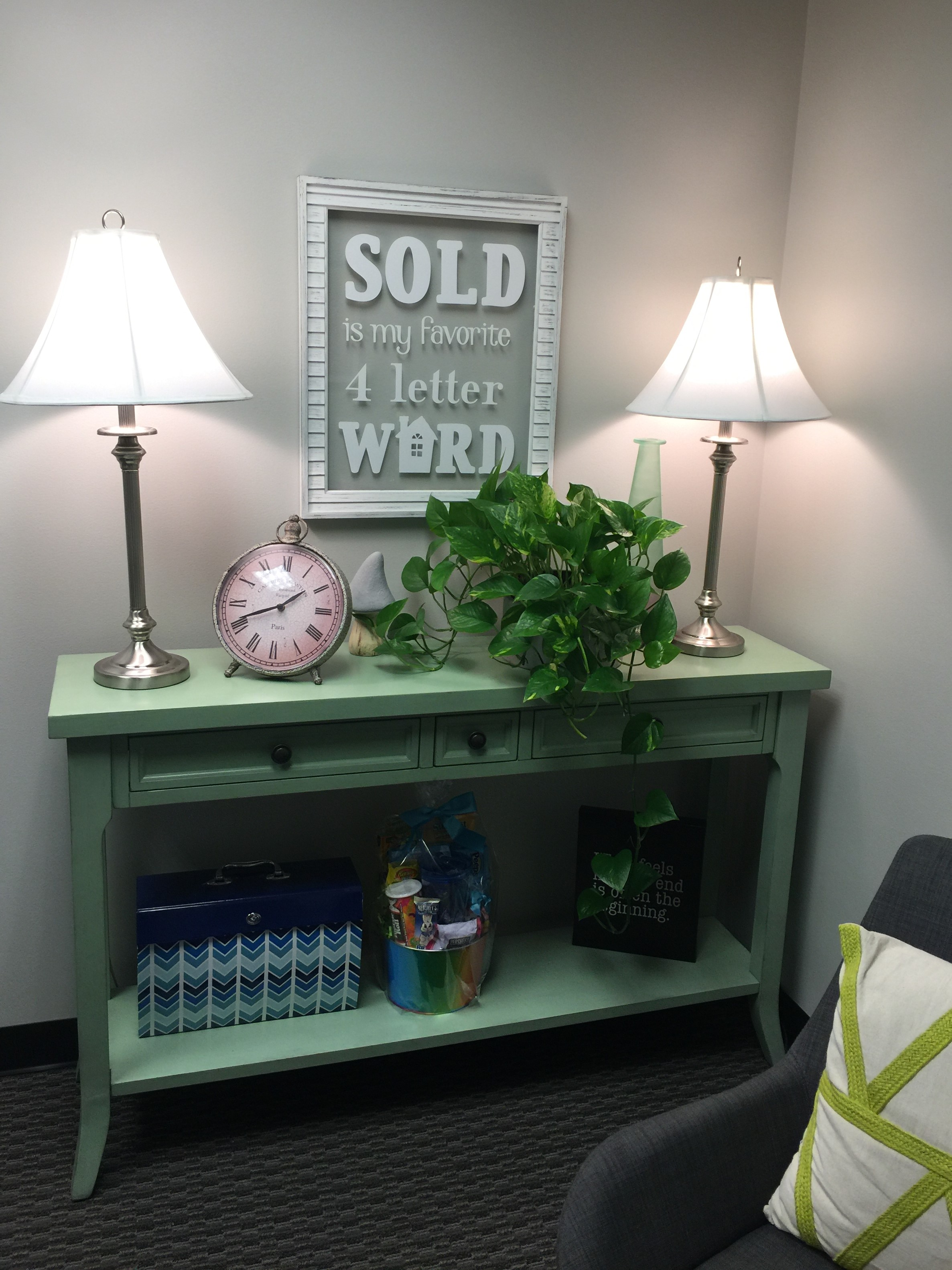 Office Decor for RVA Elite Realtors