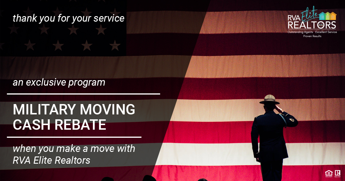 RVA Elite Military Rebate Program