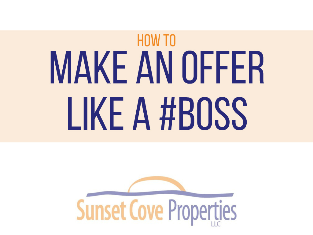 Make an Offer Like a Boss