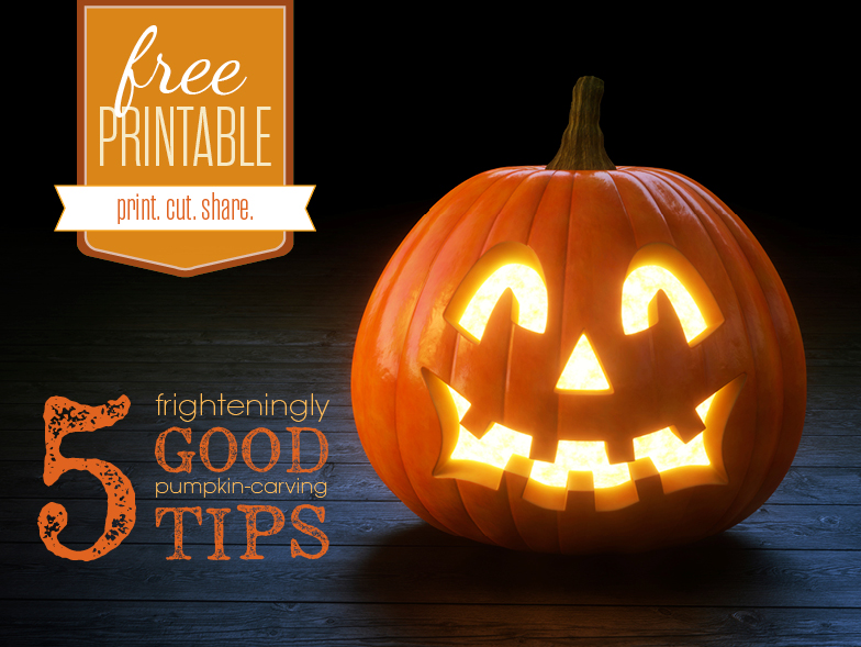 5 Tips for Pumpkin Carving