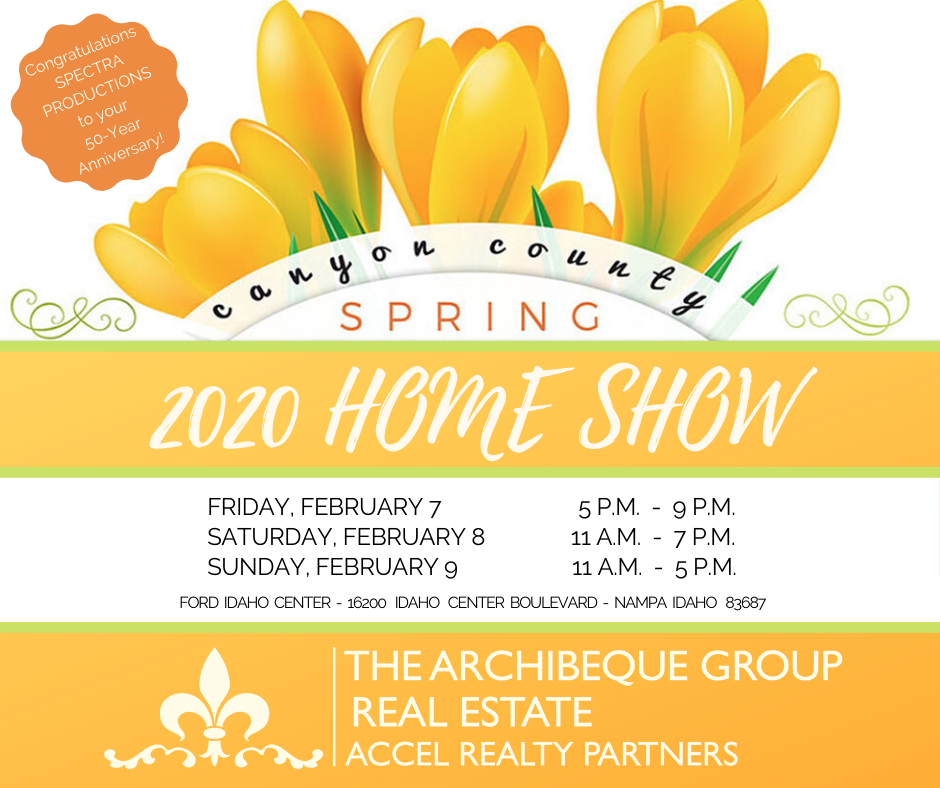 Canyon County Spring Home Show 2020 | Feb 7-9 | Nampa, Idaho