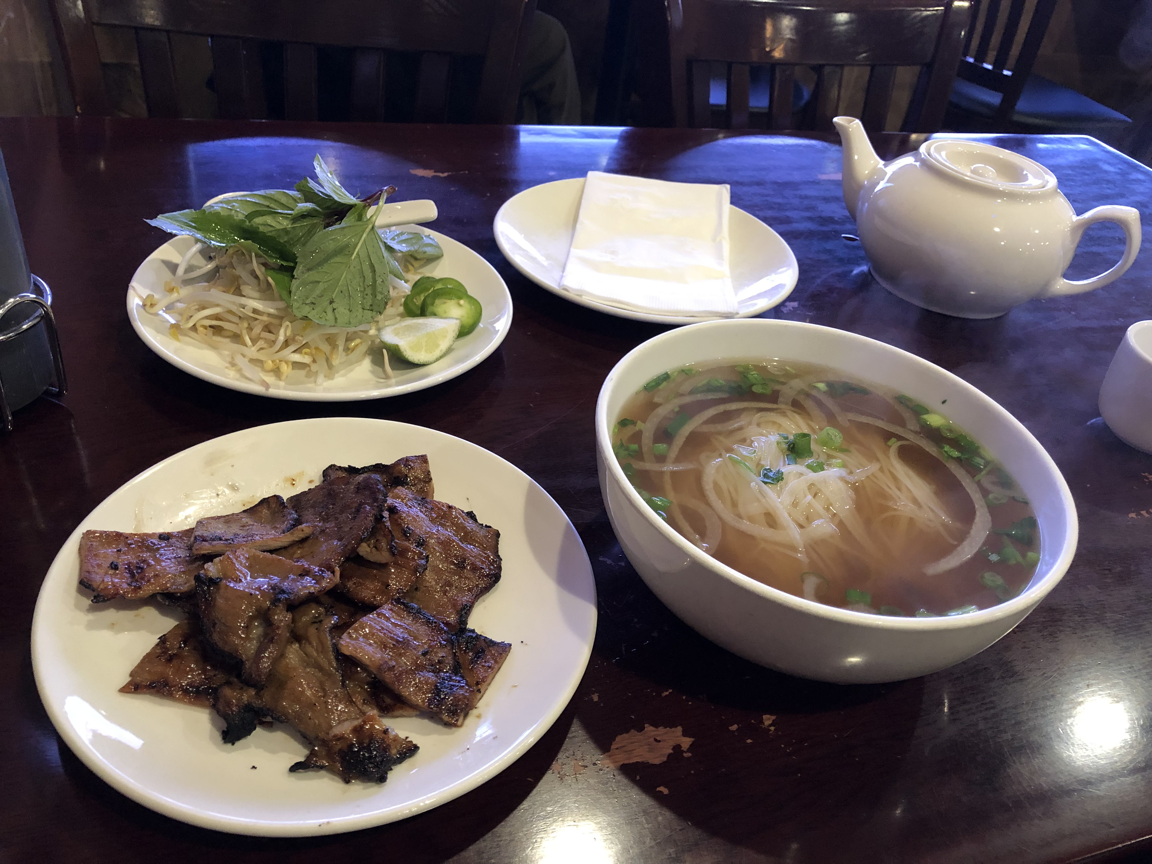 Pho with Lean Gilled Pork