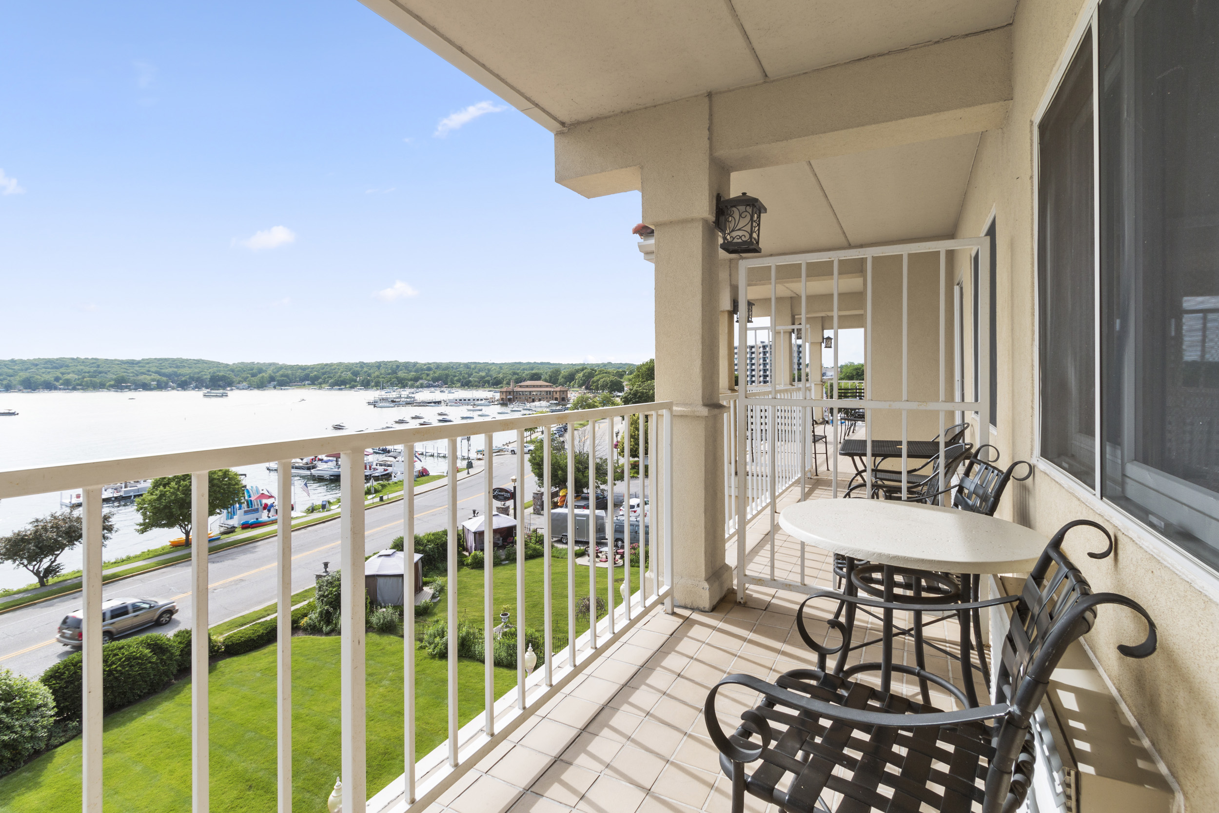 Just Listed! Fabulous Lake Views and a Great Location | 335 Wrigley Dr Unit 404, Lake Geneva WI