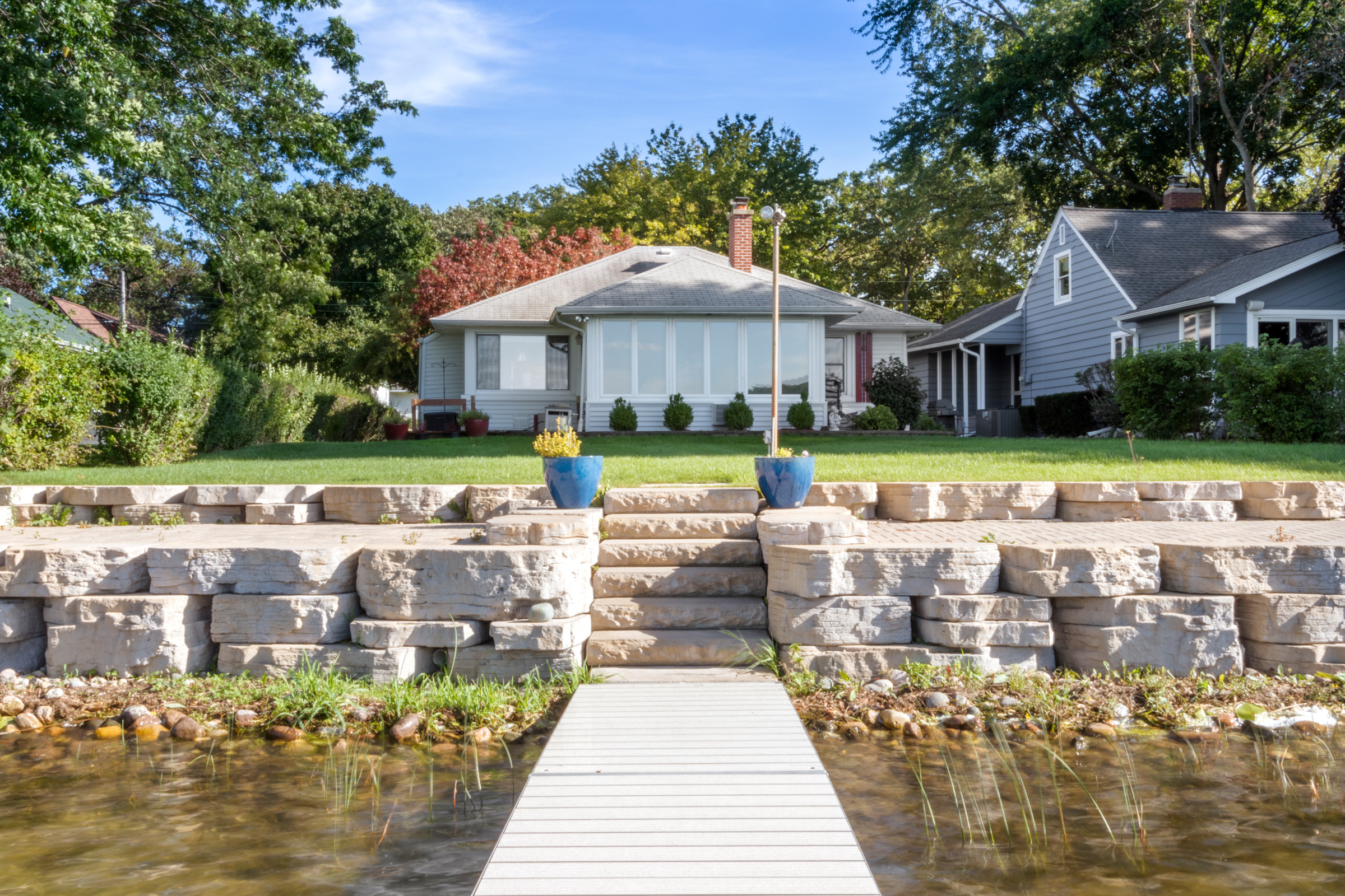 SOLD! 2BR, 1.5BA Ranch with Powers Lake Frontage | 9030 Lake Park Dr, Powers Lake WI
